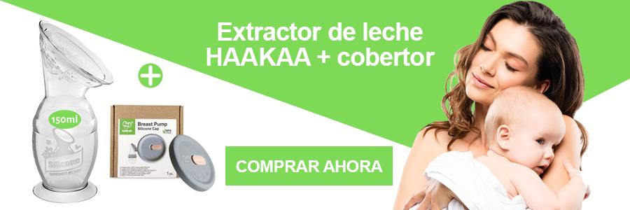 Extractor de leche haakaa